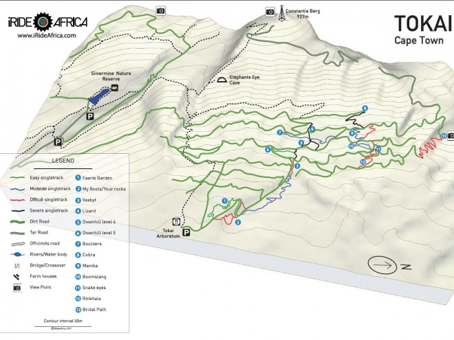 Tokai MTB Map
