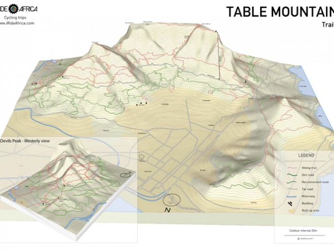Table Mountain MTB Map