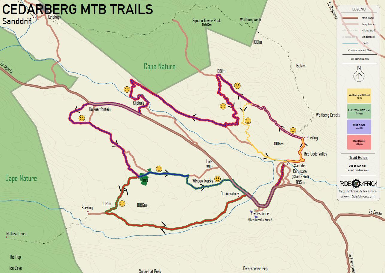 Trail maps iRide AfricaiRide Africa