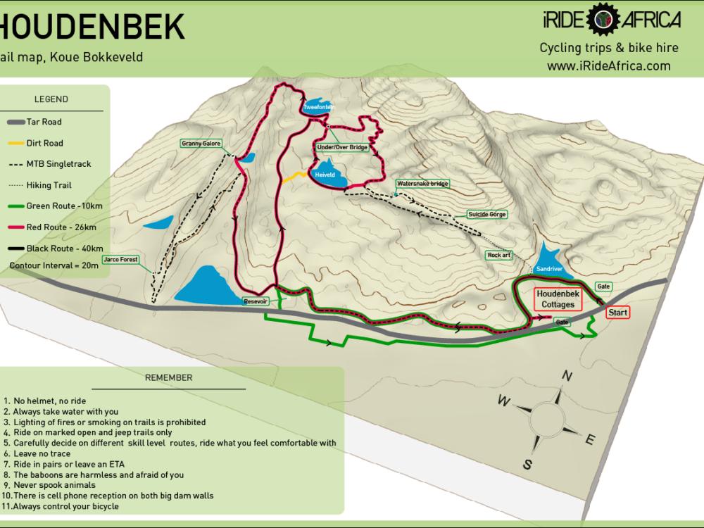 Houdenbek MTB trails