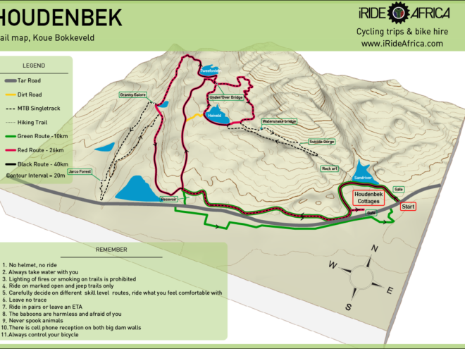 Houdenbek MTB trails
