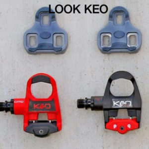look keo pedals and cleats