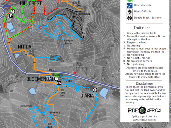 Bloemendal mtb map