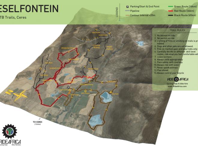 Eselfontein mtb map