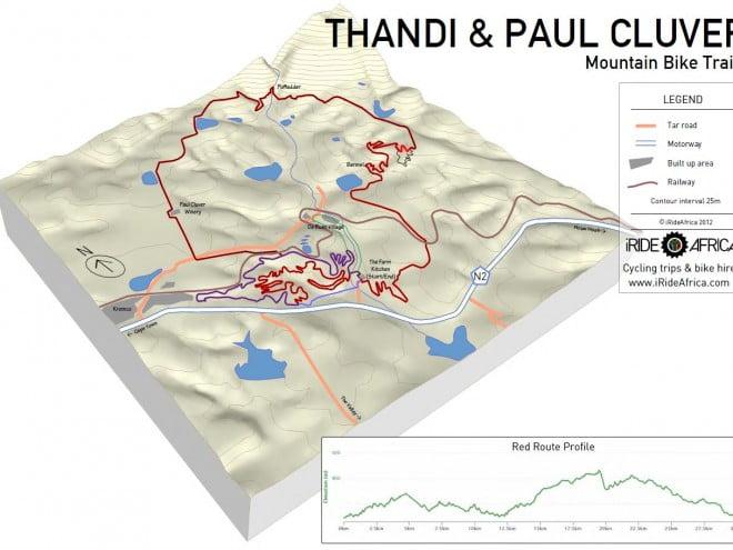 Thandi & Paul Cluver Map