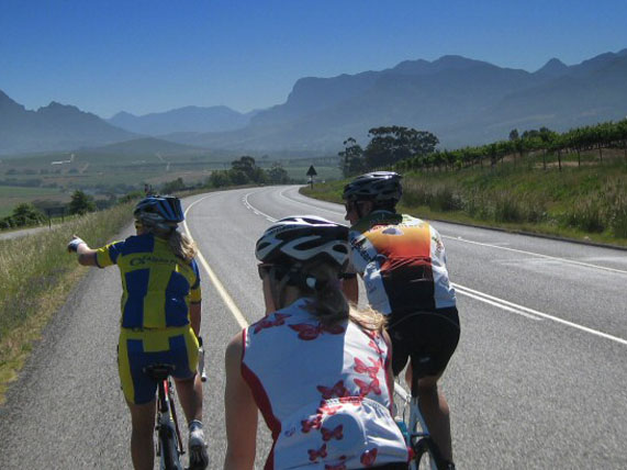 road cycling day tours cape town