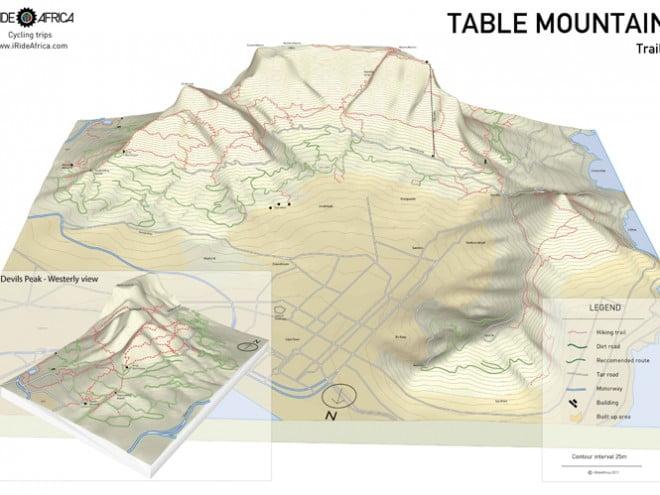 Table Mountain MTB Map