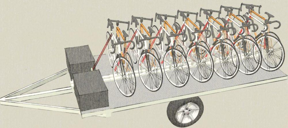 bike trailer rental