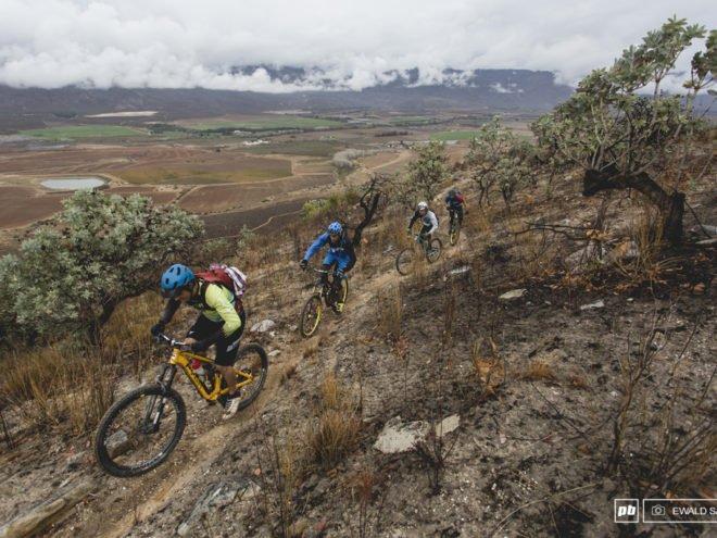 Cape Town mountain biking tour